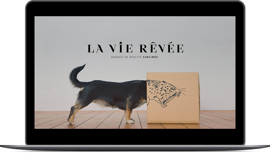 La vie revee powerpoint laptop