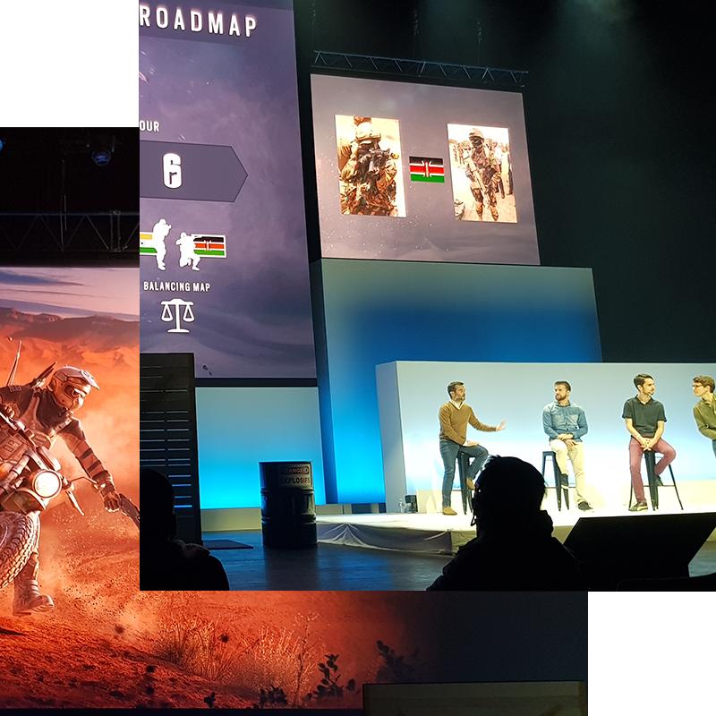 Realisation presentation Ubisoft kickoff 2019